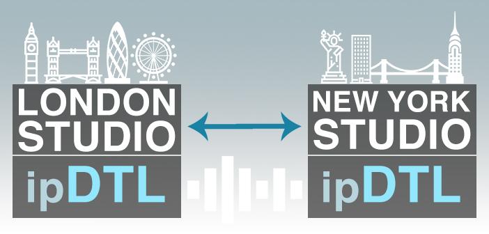 Remote Studio with ipDTL and ipDTL