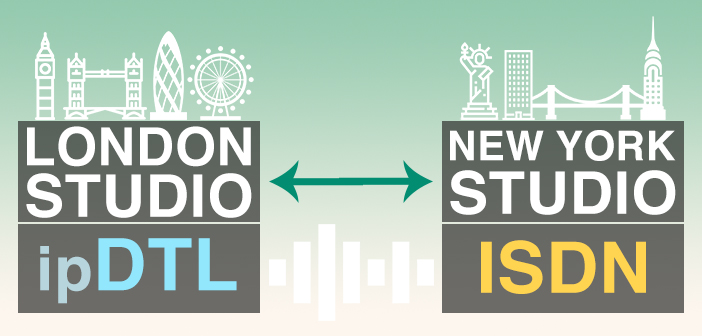 Remote Studio with ipDTL and ISDN