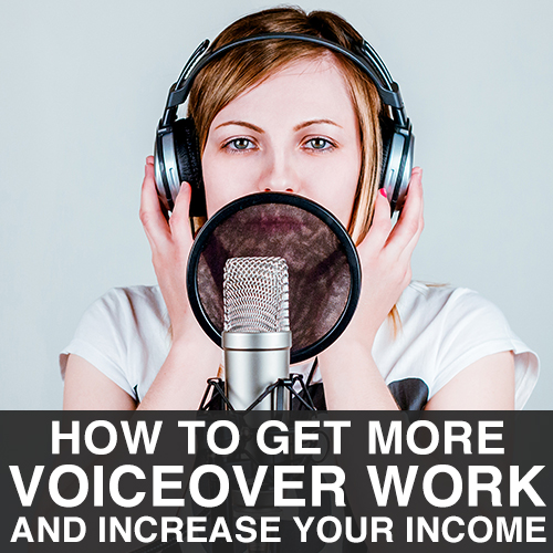 How to Get Work as a Voice Artist