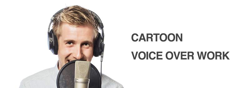 voice over industry cartoons