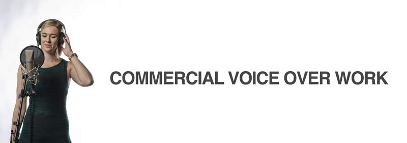 voice over industry commercials