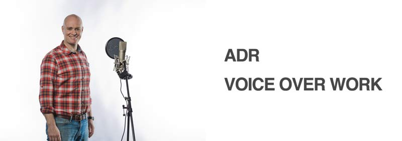 voice over industry adr