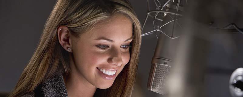 audiobook voice over jobs women