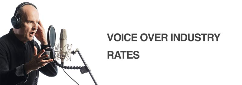 voice over industry rates