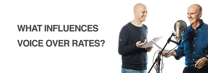 voice over rates influences