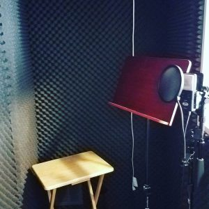 home voice over booth