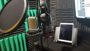 voice over home recording studio setup
