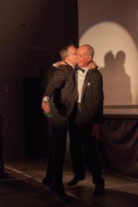 Armin Hierstetter kiss Peter Dickson