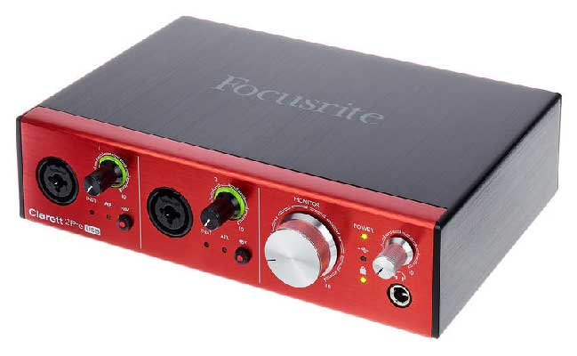 How To Choose The Best Audio Interface As A Voiceover focusrite clarett 2