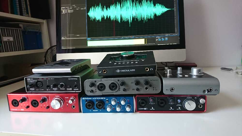 how to choose an audio interfaces voiceover